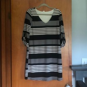 Women's Maternity Striped Dress